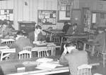 Students Studying in the Library at the Koehler Educational Building by George Fox University Archives