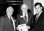 Dave LeShana, Jene Hockett, James Tusant by George Fox University Archives