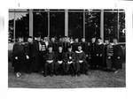Faculty and Administration, 1986 by George Fox University Archives