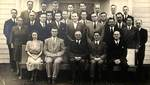 Students and Faculty First Term by George Fox University Archives