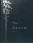 """The Evergreen"" Yearbook 1951"