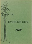 """The Evergreen"" Yearbook 1954"