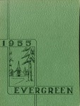 """The Evergreen"" Yearbook 1955"