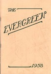 """The Evergreen"" Yearbook 1958"