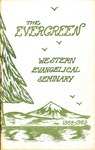 """The Evergreen"" Yearbook 1959 by Western Evangelical Seminary"