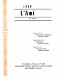 1936 L'Ami Yearbook