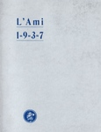 1937 L'Ami Yearbook
