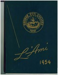 1954 L'Ami Yearbook
